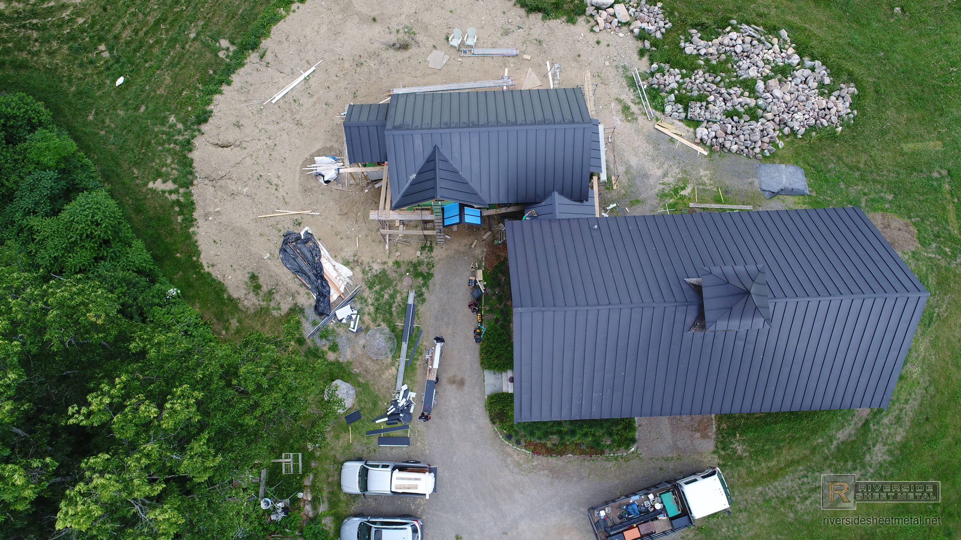 Matte Black Sheets Amp Coils Gutters Amp Metal Roofing