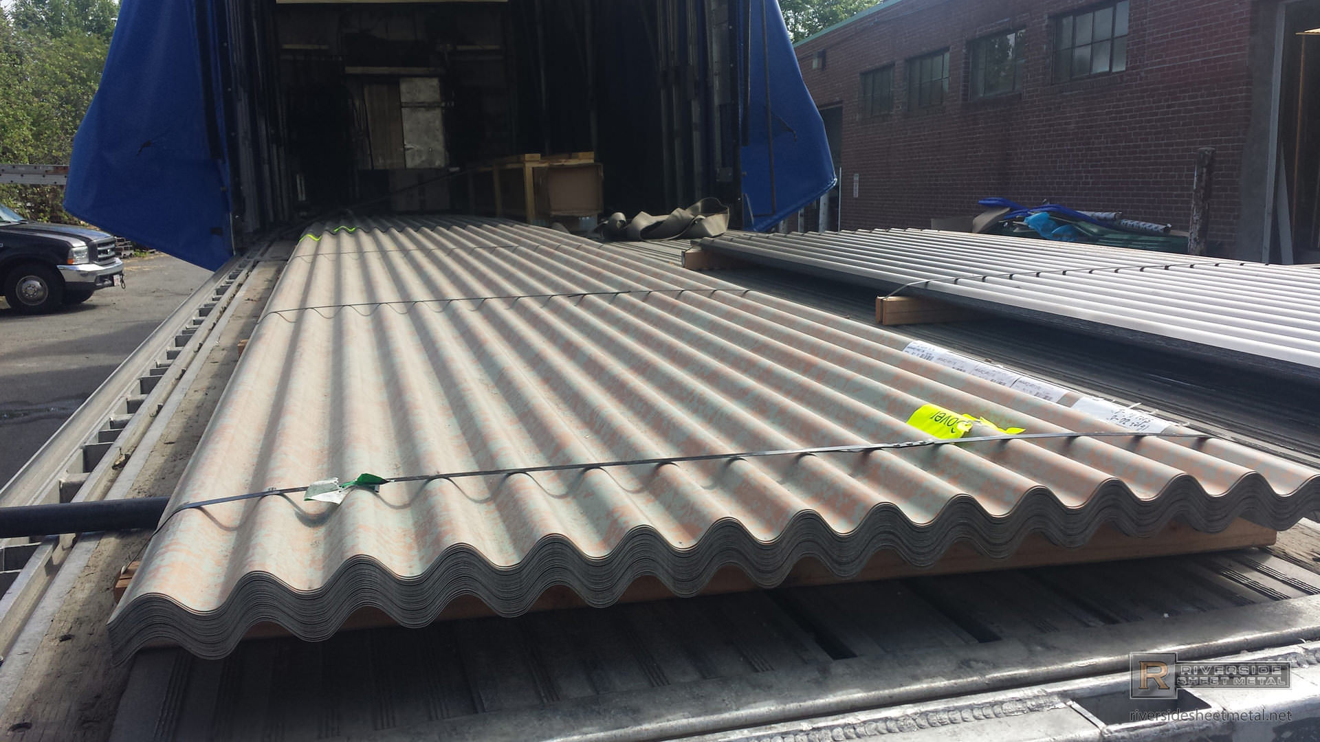 Roof Corrugated Amp 34 Gauge Corrugated Metal Roofing Sheet
