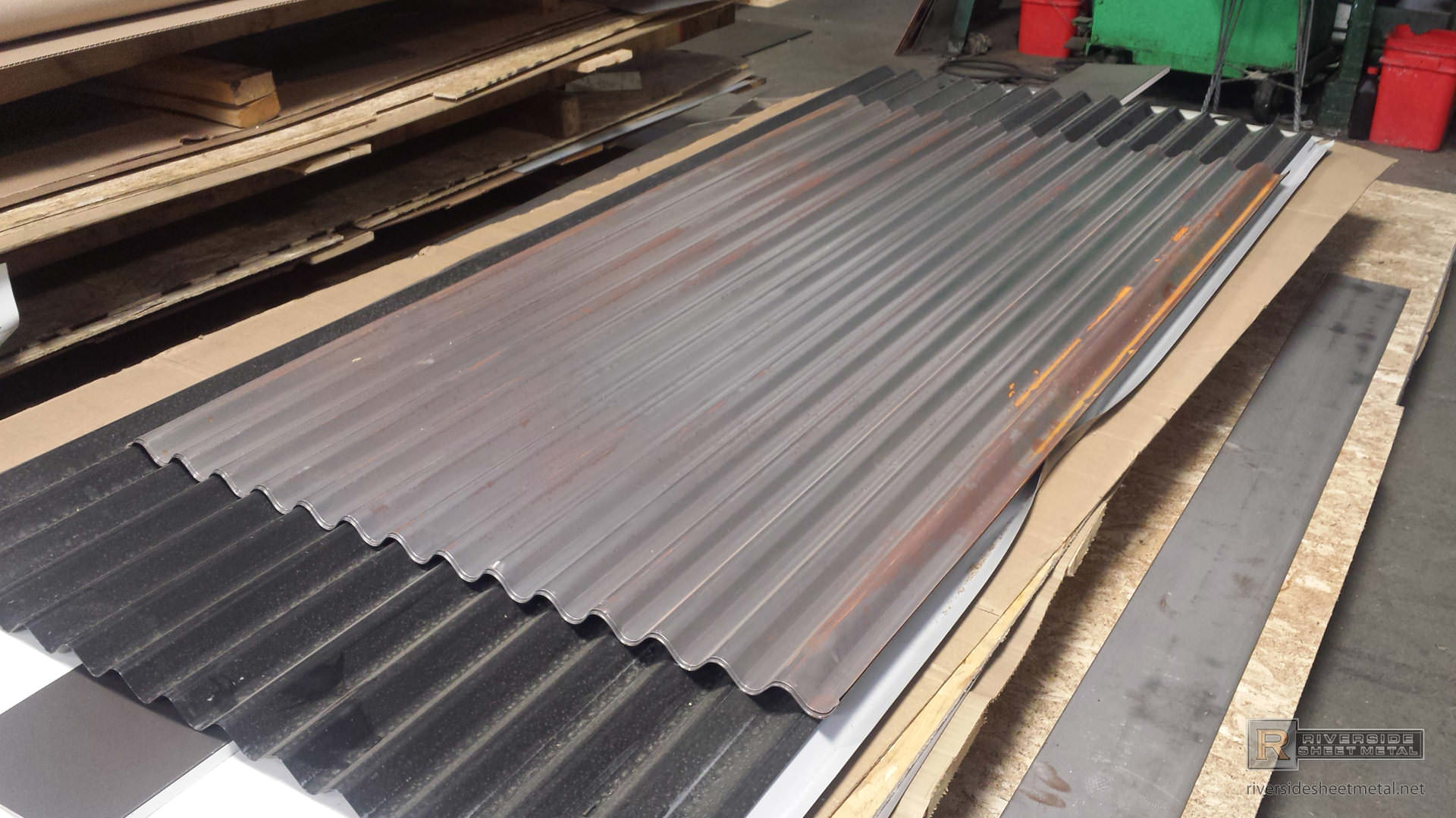 Corrugated Galvanized Panels : Corrugated roof wall panels steel aluminum corten more