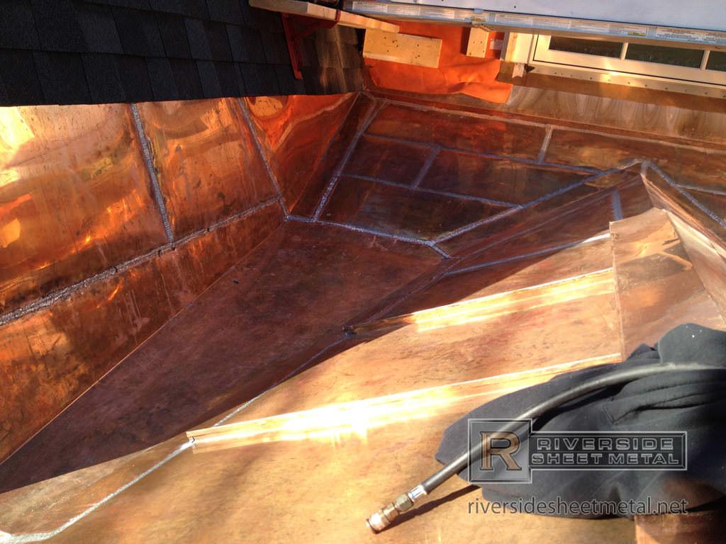 Flat Lock Roof Amp Wall Panels Copper Steel Aluminum Amp More