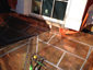 Copper flat lock panels installation - view 4