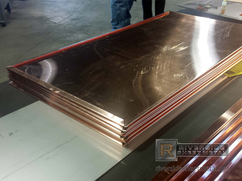 Flat Lock Roof Amp Wall Panels Copper Steel Aluminum Zinc