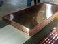 Custom copper flat lock panels
