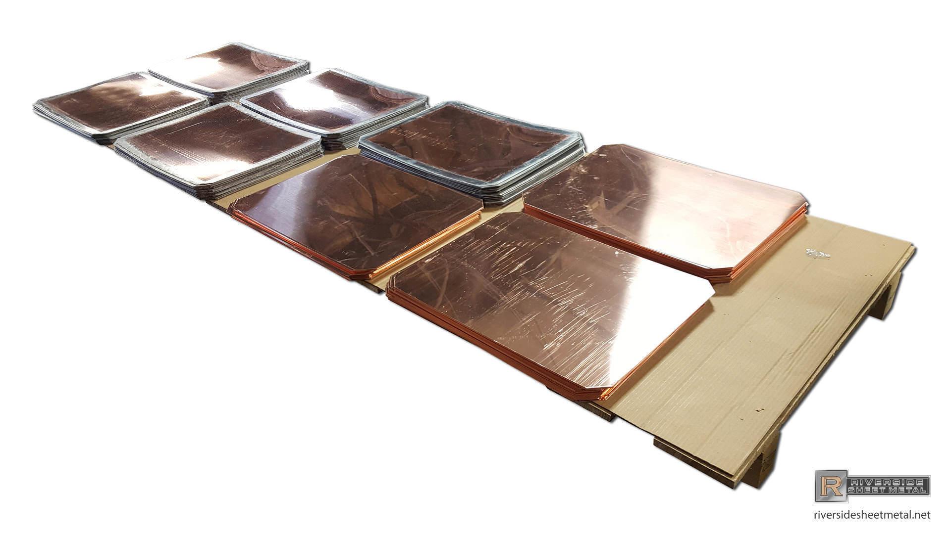 Flat Lock Roof Wall Panels Copper Steel Aluminum Zinc