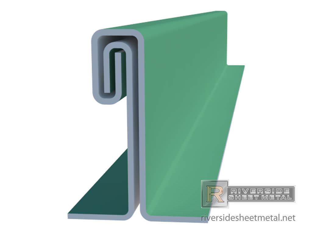 Standing Seam Double Lock Panels Copper Steel Aluminum