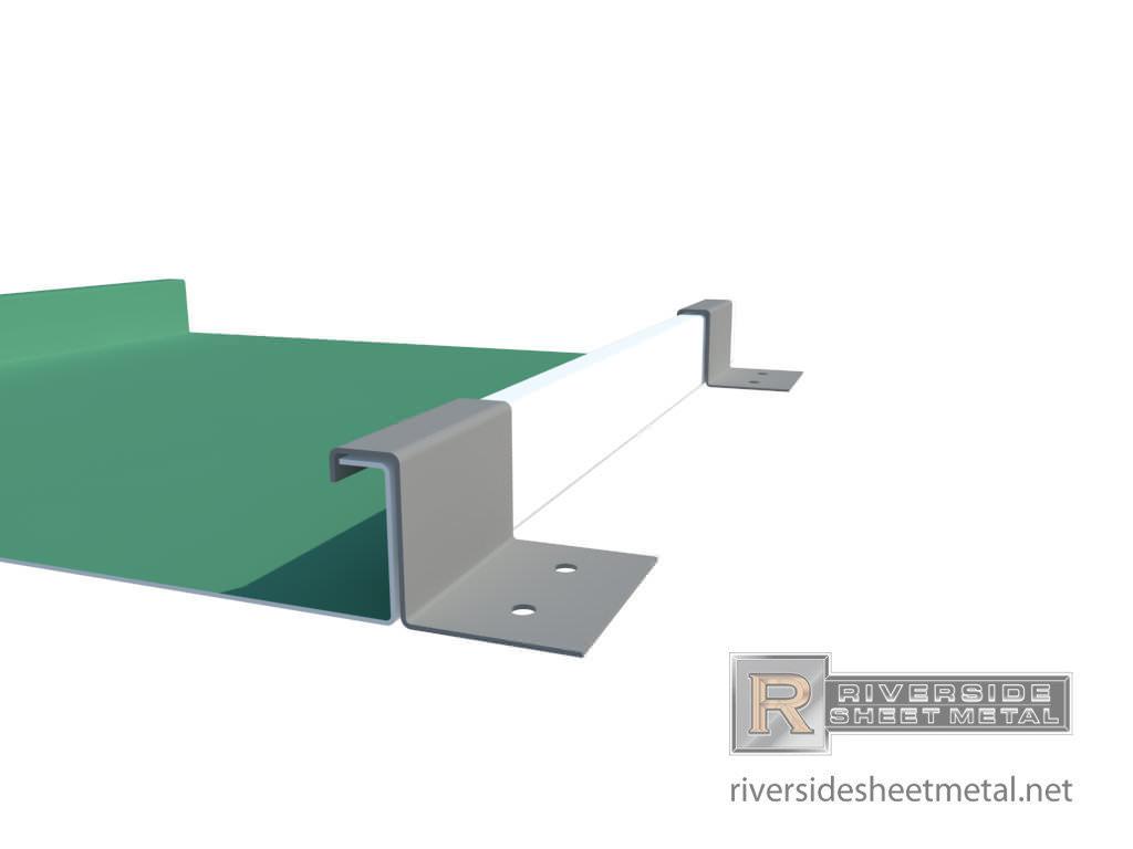 Standing Seam Single Lock Panels Copper Steel Aluminum