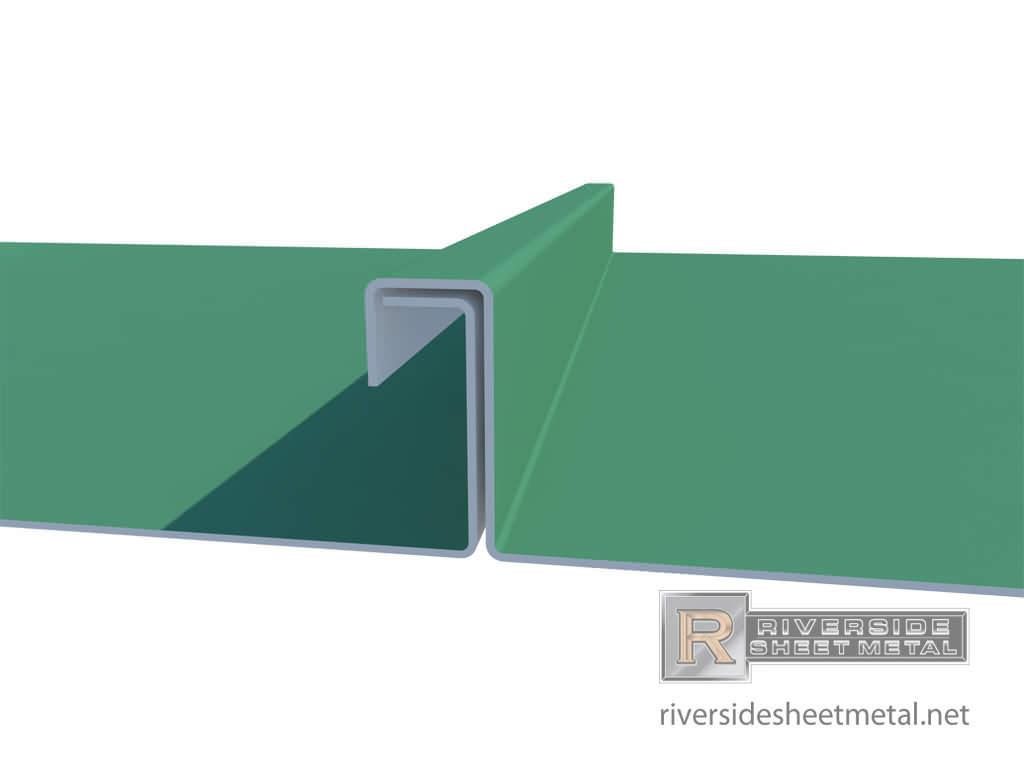 Aluminium Standing Seam Panels : Standing seam single lock panels copper steel aluminum