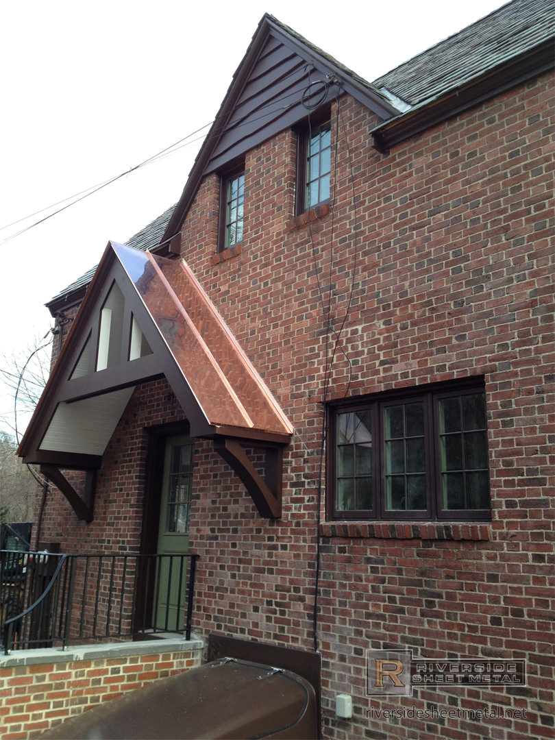 Standing Seam Copper Roof Riverside