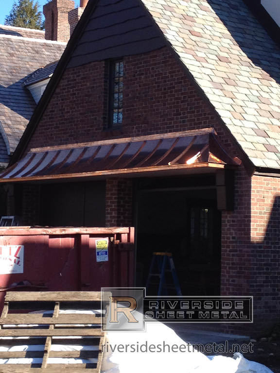 Standing Seam Copper Panels Metal Roofing Medford Ma