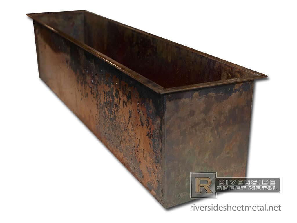 Target Planter Boxes Copper Planter Boxes