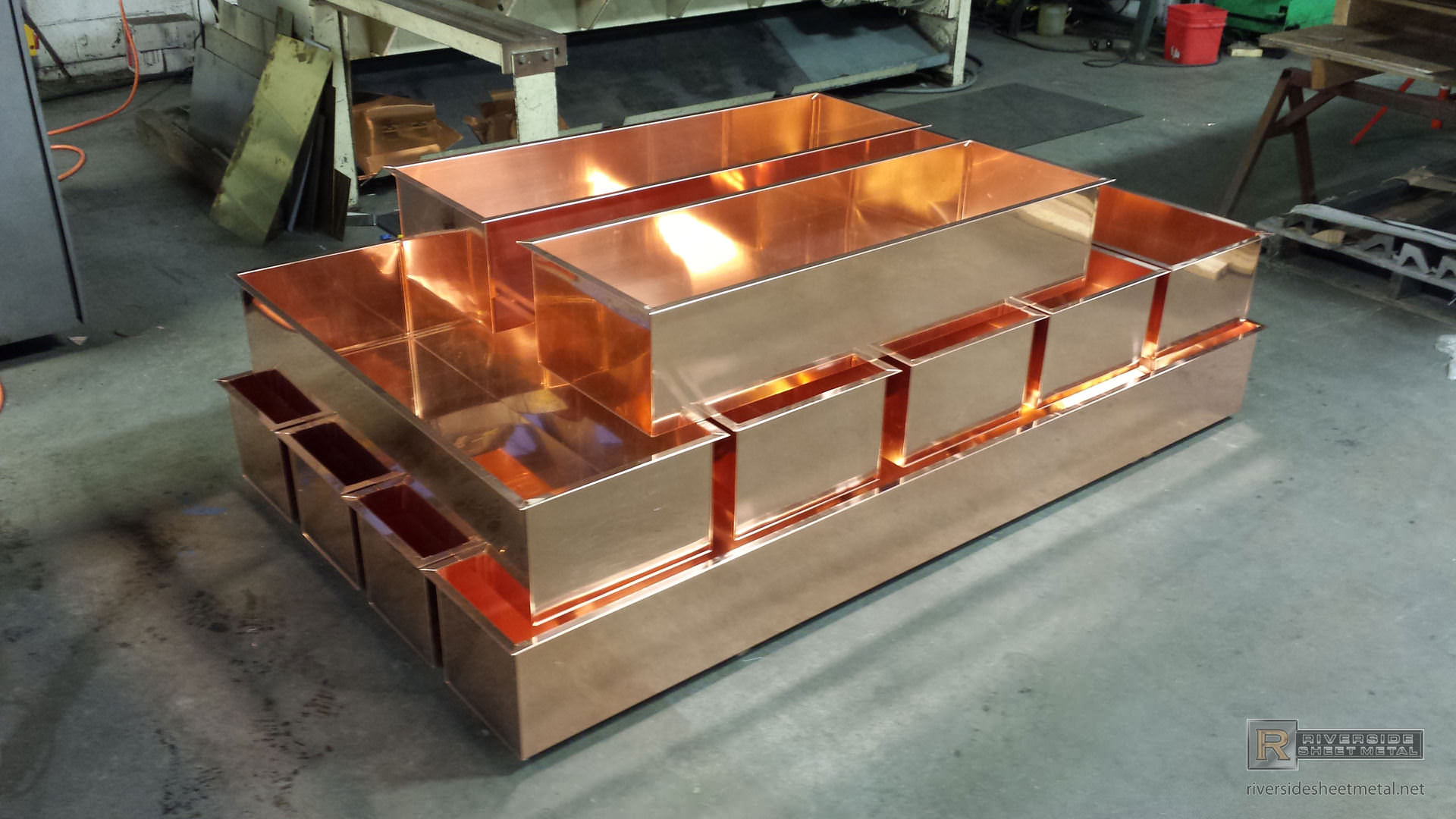 Planters Window Amp Flower Boxes Copper Stainless Steel