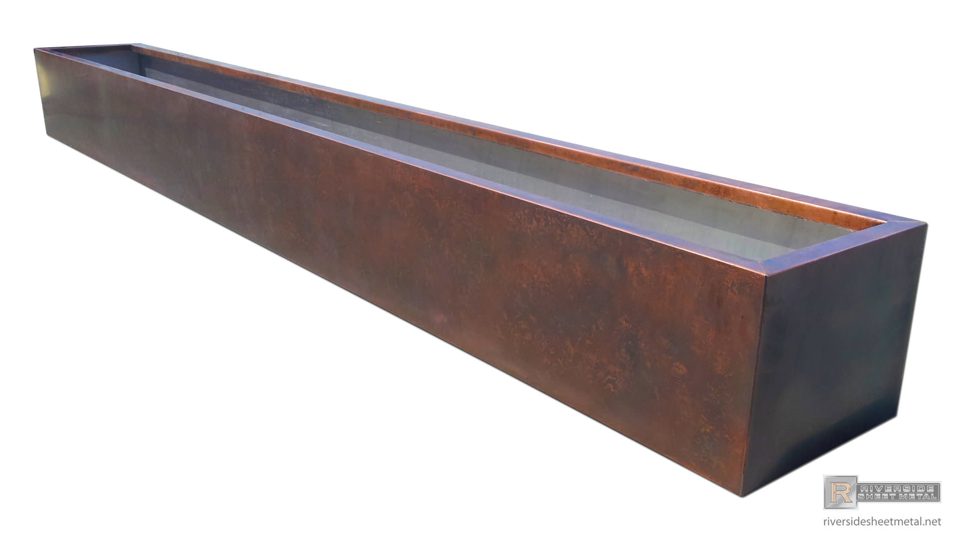 Planters Window Flower Boxes Copper Stainless Steel Zinc