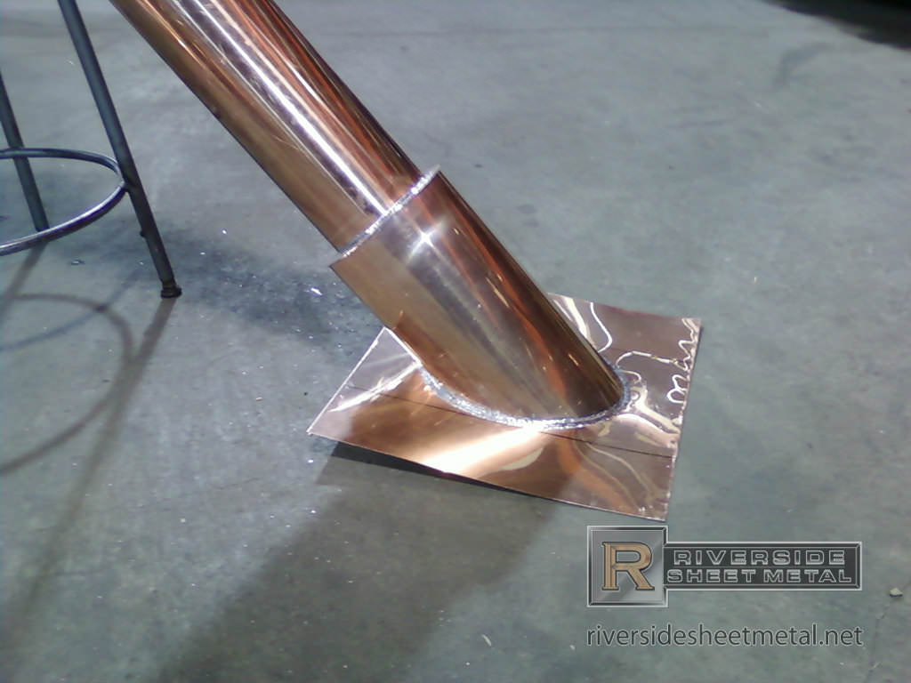 Copper Stack Pipe Vent Custom Copper Products