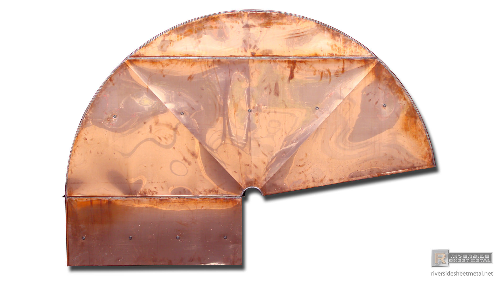 Gooseneck Custom Copper Vent Riverside Sheet Metal