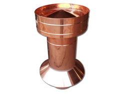 Copper pipe vent
