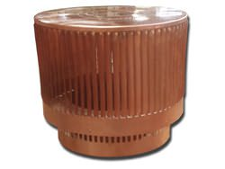Turbine copper vent custom made