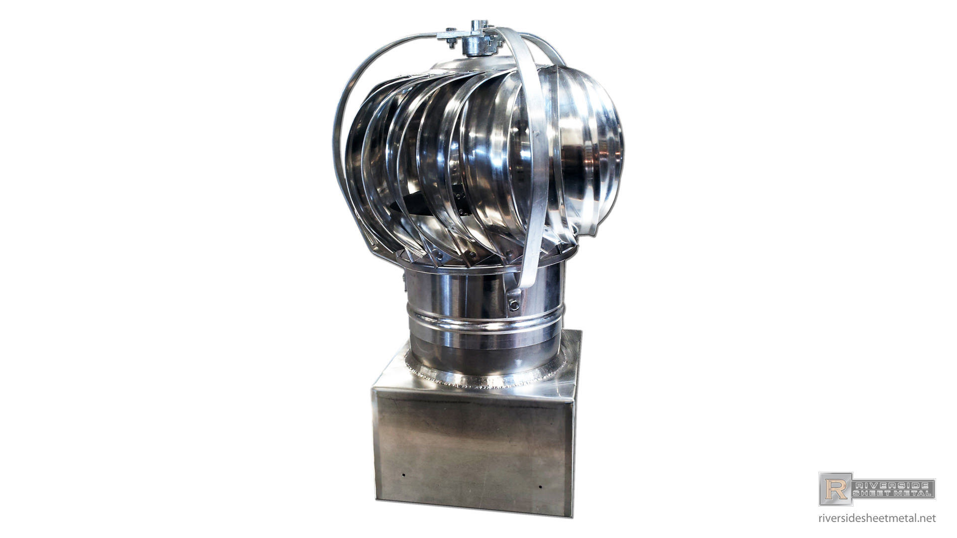 Stainless Steel Base For Aluminum Turbine Roof Vent