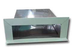 Stainless steel scupper box