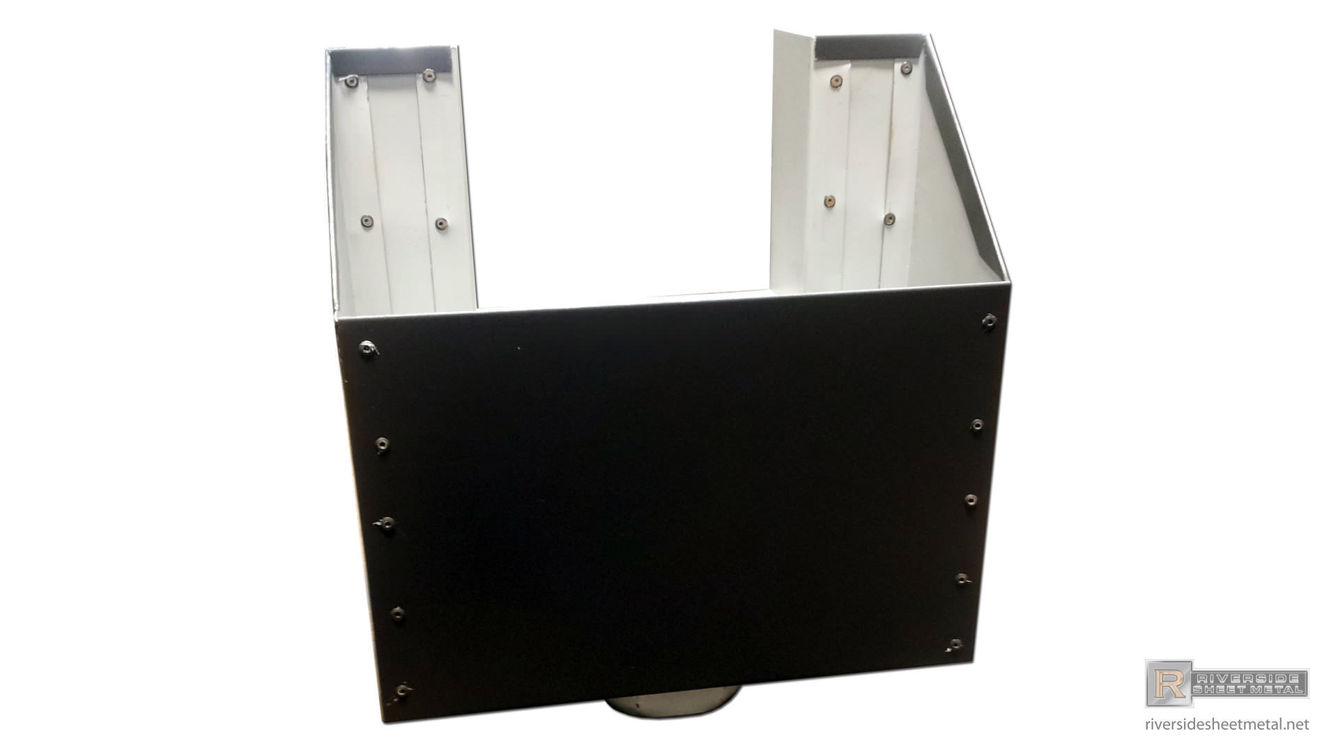 Bronze Aluminum Scupper Box Riverside Sheet Metal