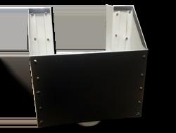 Bronze aluminum scupper box