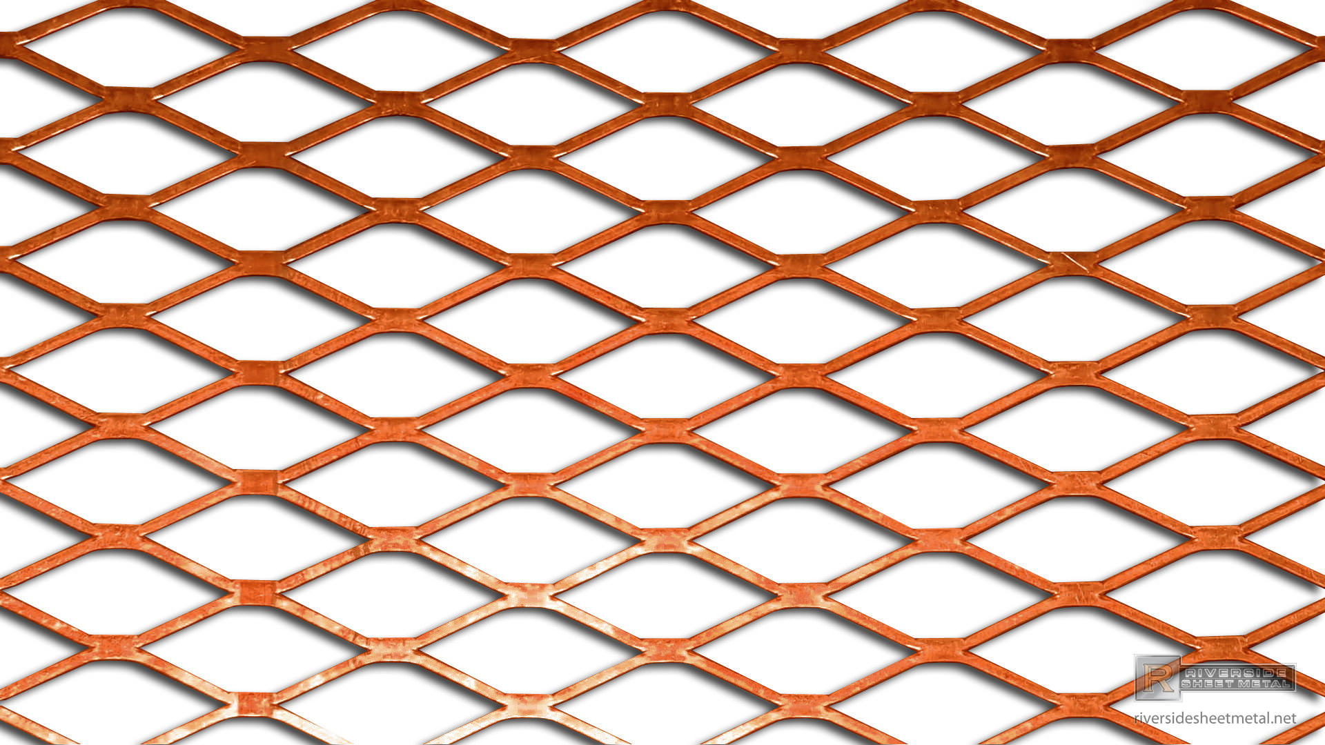 Copper Expanded Sheet Supply Riverside Sheet Metal