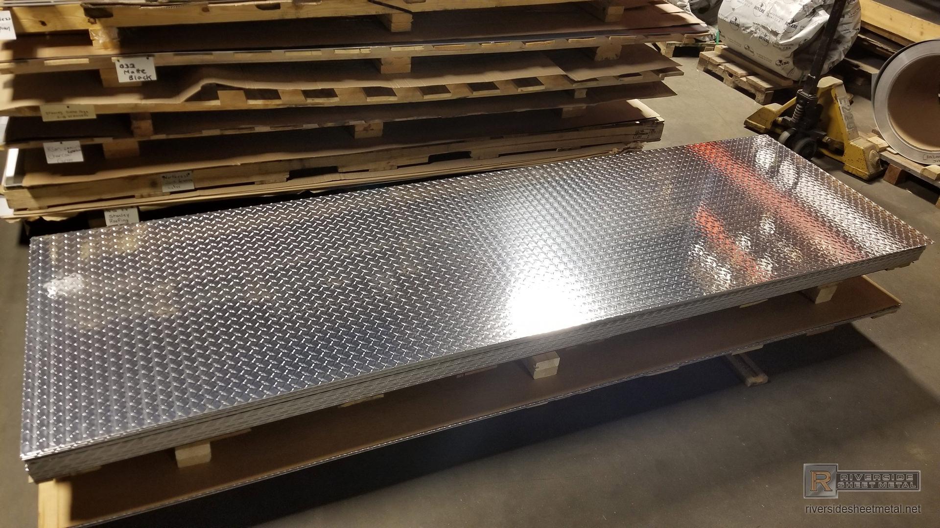 Diamond Plate Aluminum Sheets 1 8 Quot 3 16 Quot And 1 4