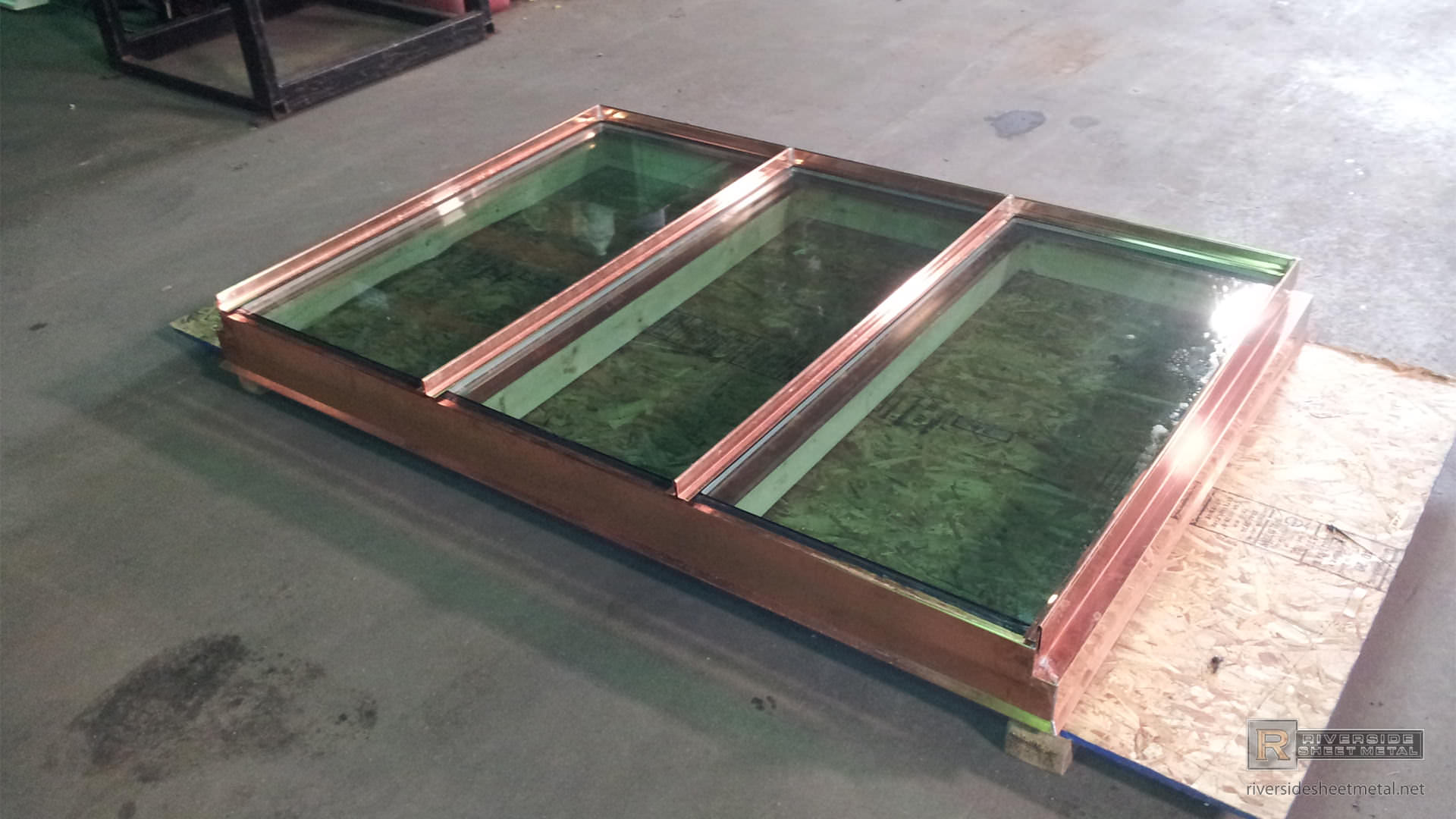 Copper Skylight Riverside Sheet Metal Medford Ma