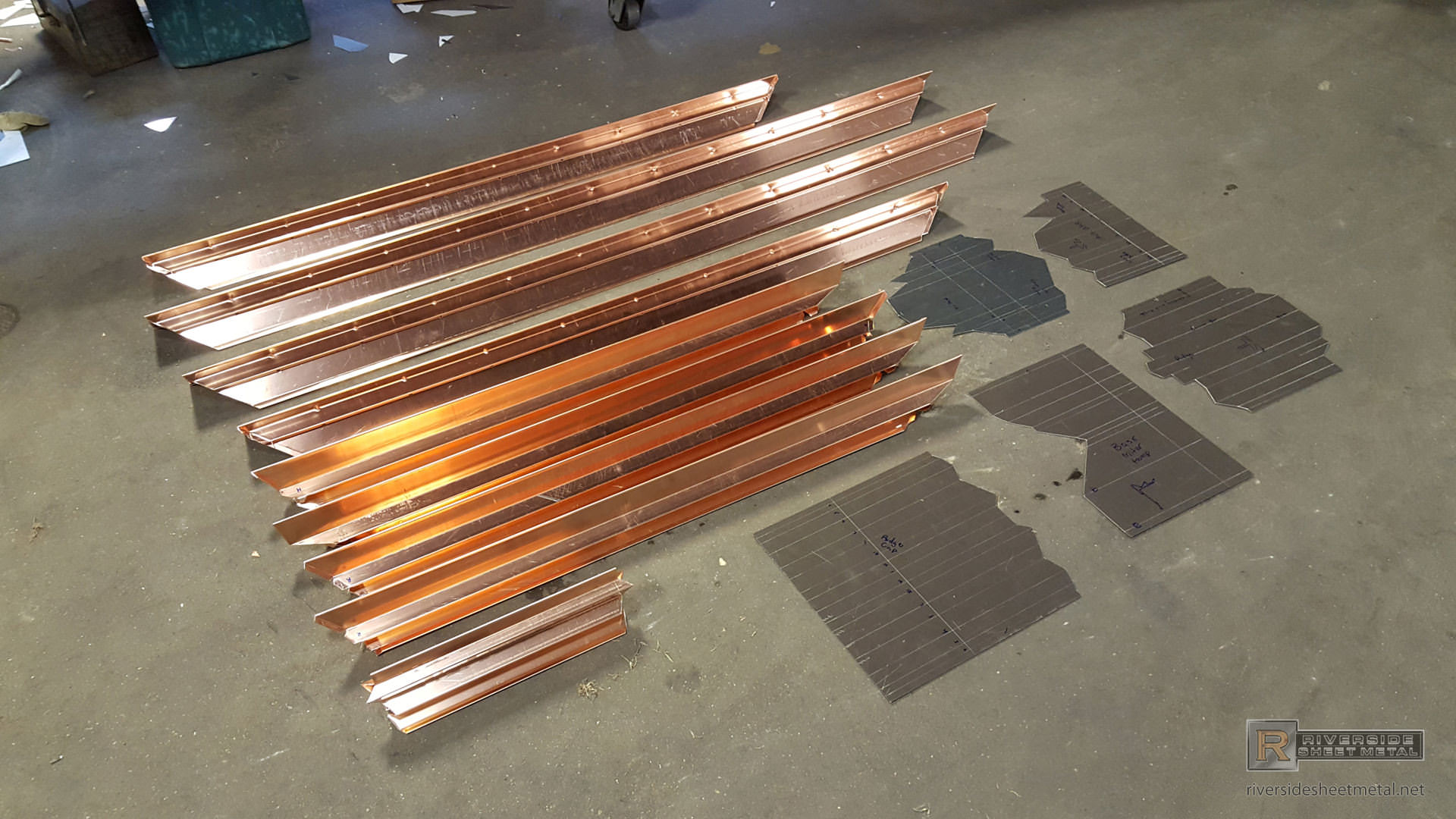 Custom Skylight In Copper Made To Customer S Specifications