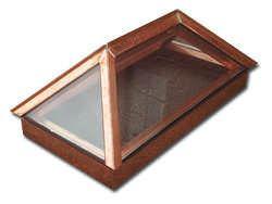 Custom made copper skylight 1